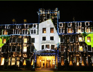 Gleneagles Projection Mapping 2