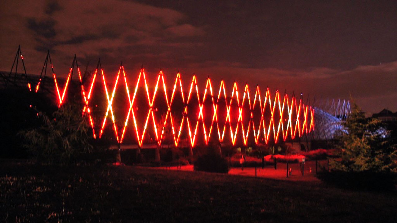 Botanic Lights 0.5km LED Installation