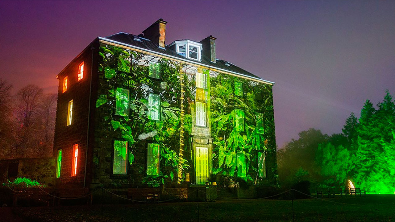 Botanic Lights Projection