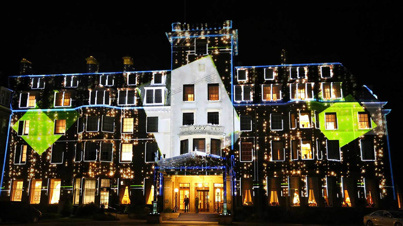 Gleneagles BUPA Projection Mapping