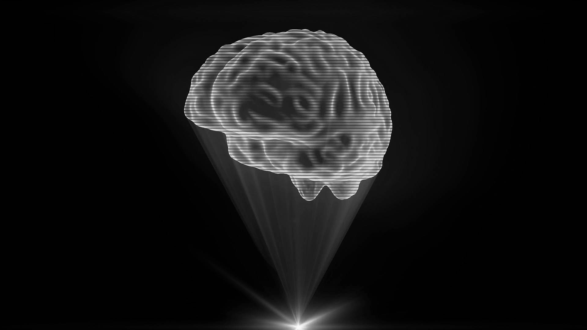 Brain Holographic Projection Test