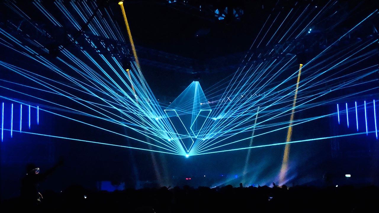 Terminal V Laser Display